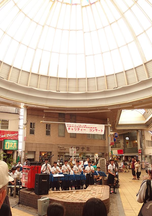 京橋ドーム下チャリティーコンサート