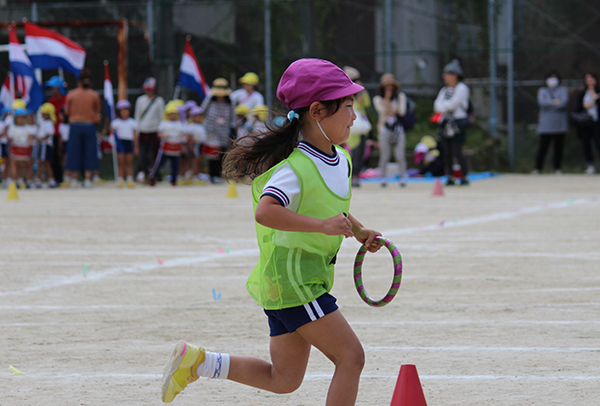 幼稚園運動会リレー