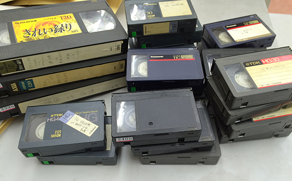 VHSテープダビング
